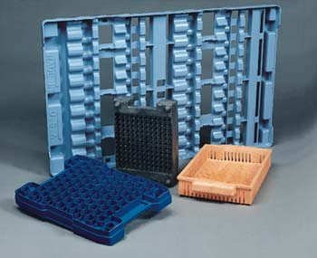 Structural Foam Molding is the solution for durable, cost-effective shipping dunnage.