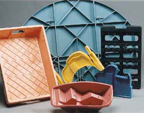 The structural foam process is well suited for a wide variety of products.