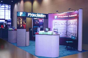 Stop by our booth and meet the Precision staff.